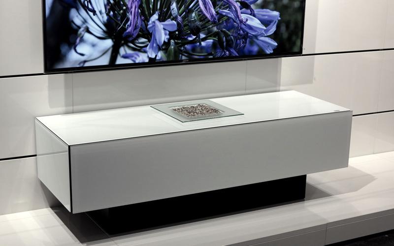 Mobile Porta Tv Con Audio Surround Integrato.Il Primo Mobile Tv Al Mondo Con Sistema Audio Integrato Seganti