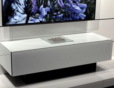 Mobile tv Brick con sistema audio integrato