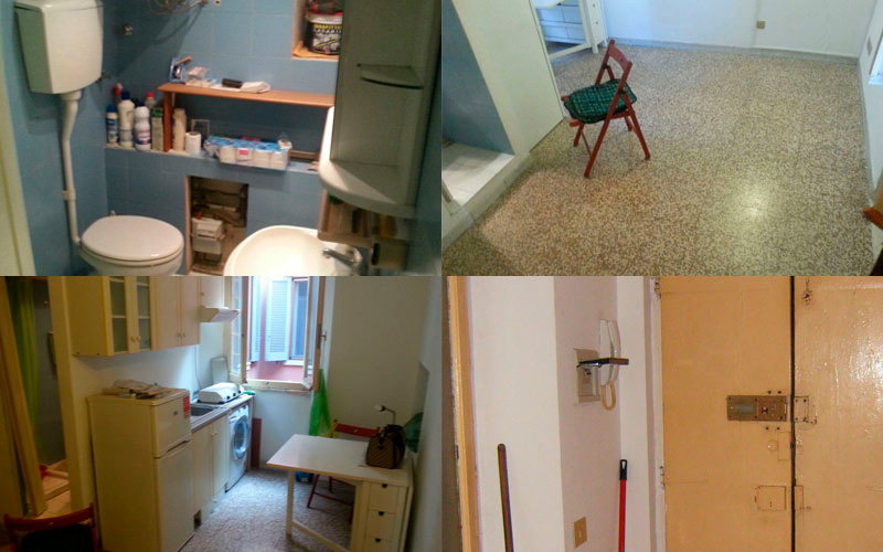 Work in progress: le condizioni originali dell'appartamento
