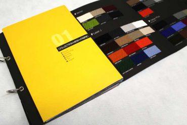 Il riferimento dei campioni colore nell'arredamento