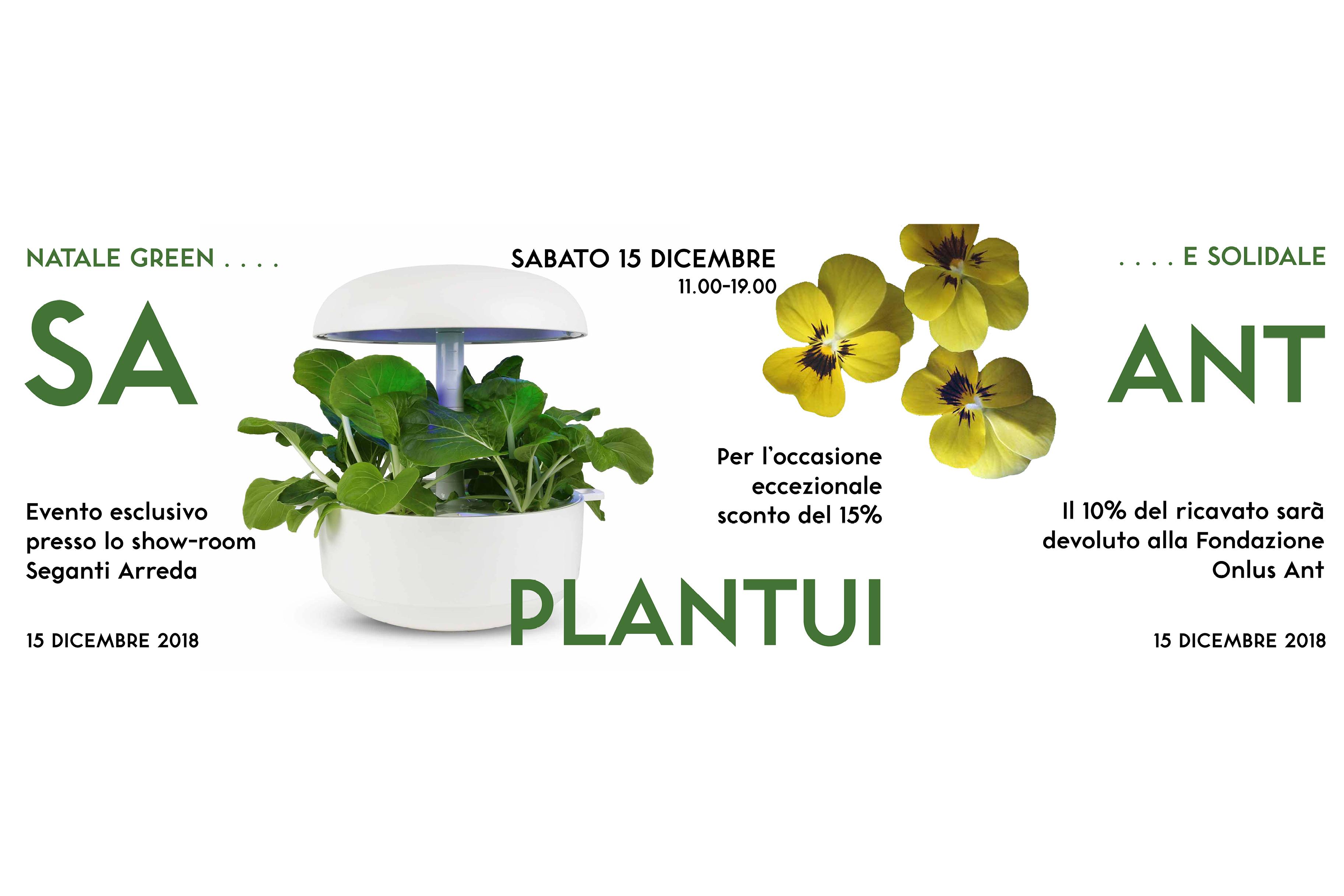 EVENTO: NATALE GREEN E SOLIDALE CON PLANTUI E ANT